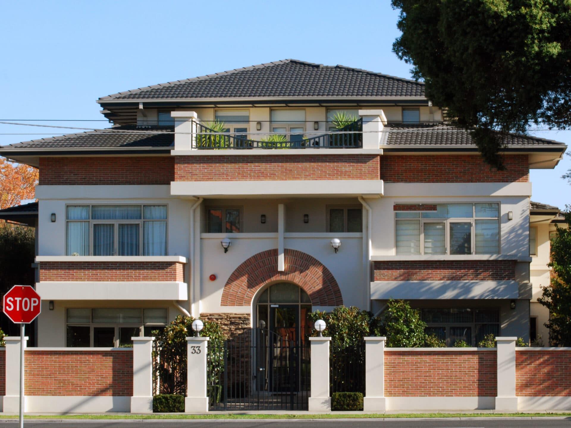 72 dpi KooyongH2 0000 Layer 3 1 - Kooyong Rd Apartments, Caulfield, Australia