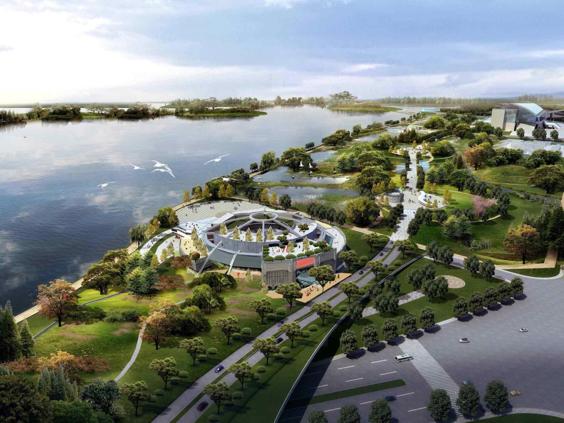 nanjing lake 03 - Education and Community Projects
