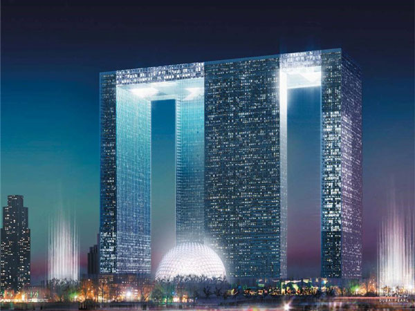 Dubai Pearl Night - International Projects