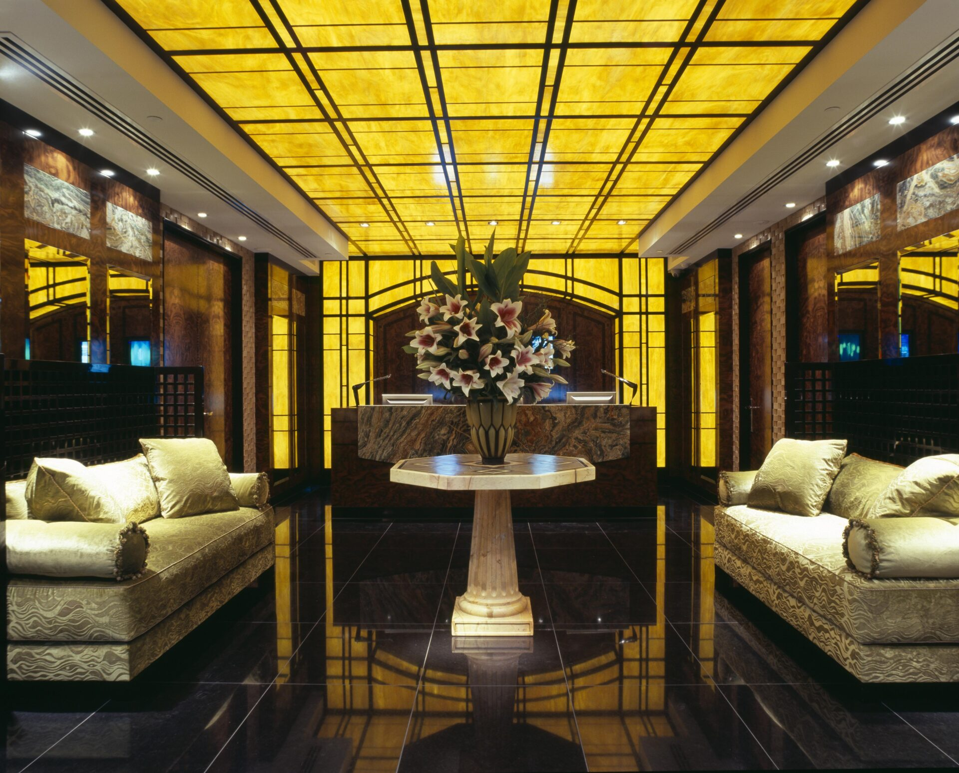 Office Lobby Interior Design Fit out