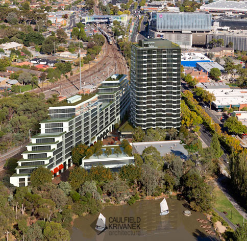 Ringwood Gateway Project Aerial View - Gateway Project, Ringwood