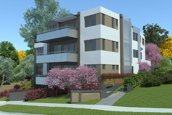 Hanke St NDIS facade 1 - Special Purpose Housing