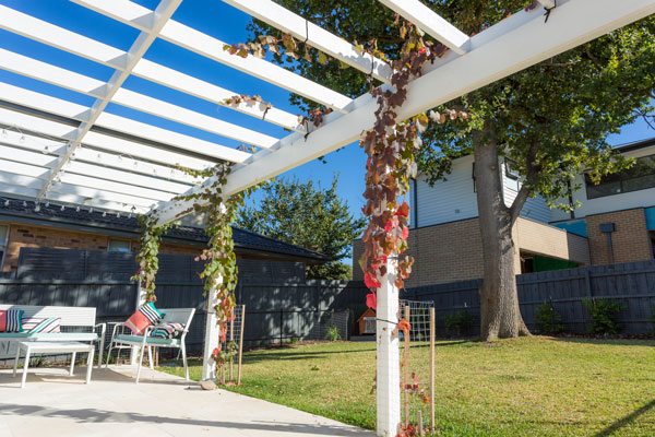 Ringwood House Pergola View - Home Renovation Cost Indicator