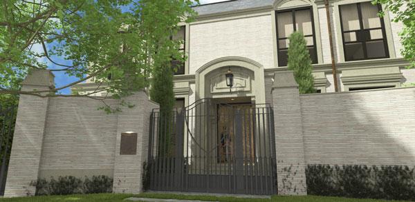 Toorak Residence Street